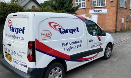 Target Pest Control Van